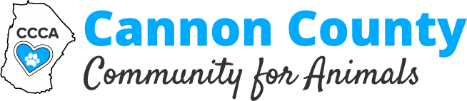 Cannon County Community For Animals Logo